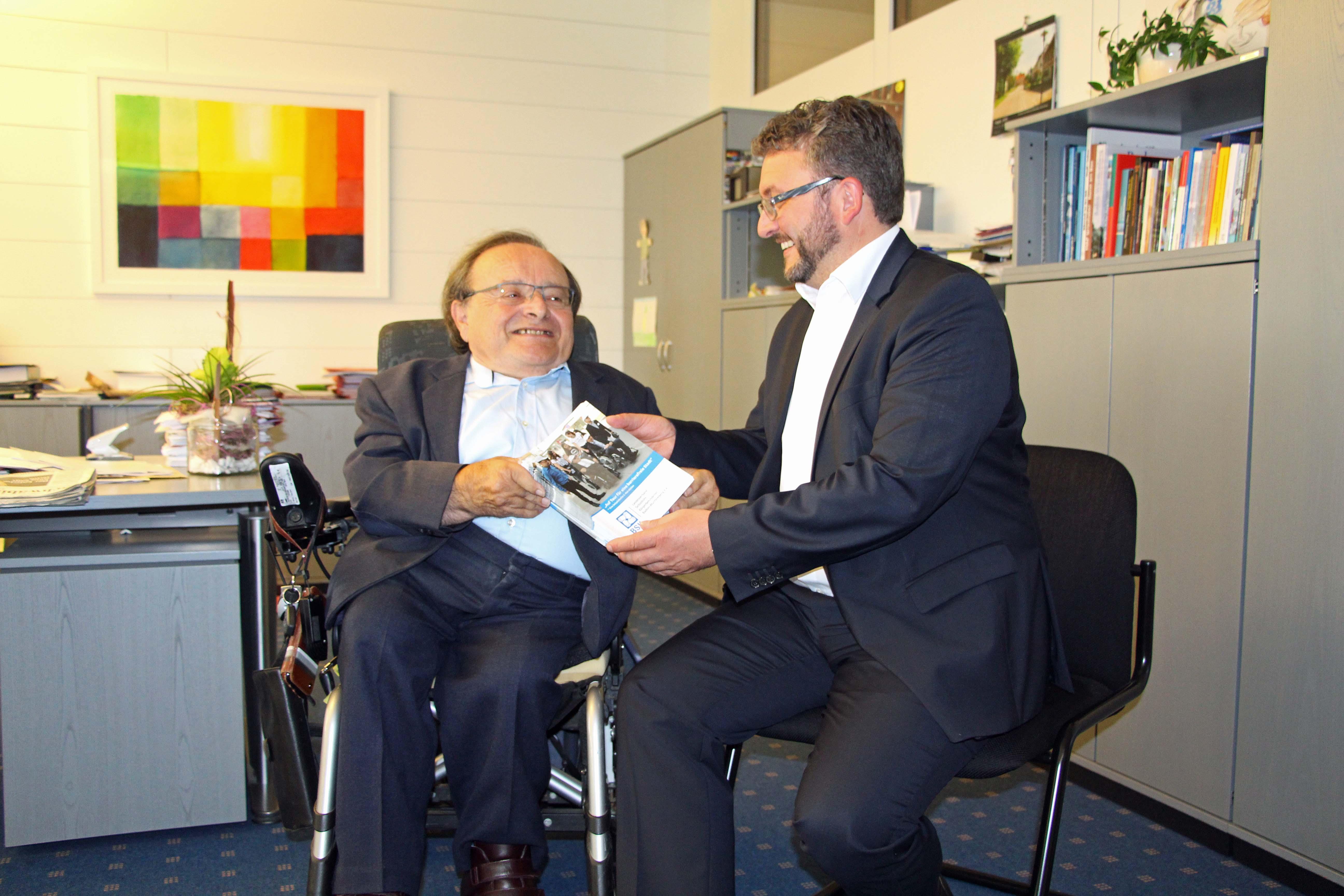 Willi Rudolf mit OB Bulander am 16.08.20016 (1)