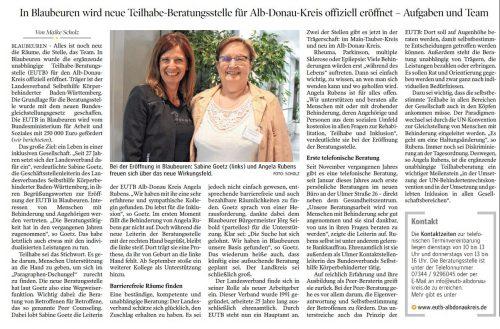 Artikel von Maike Scholz _Schwäbische Zeitung _Di. 23.07.19_neu